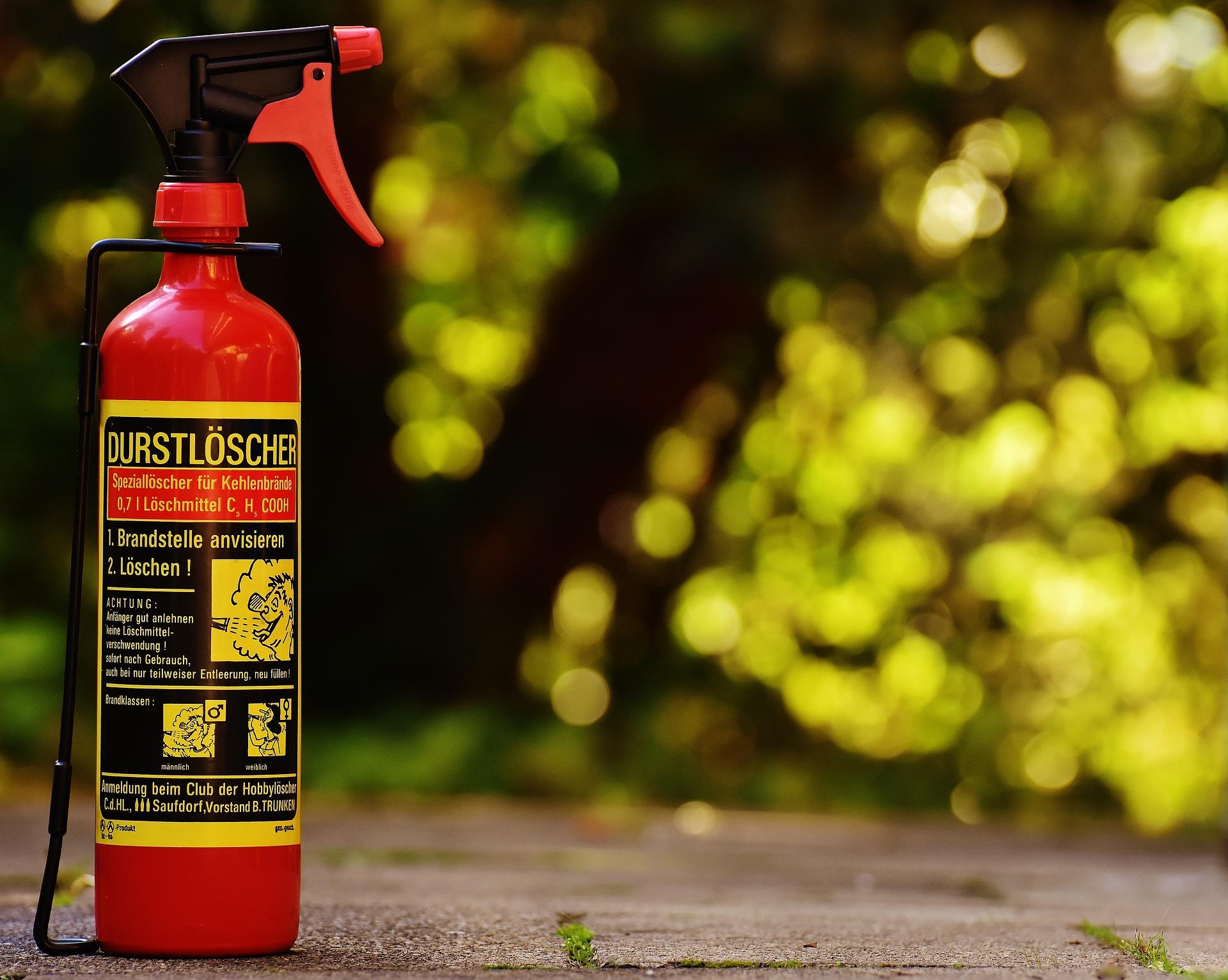 Manutenção de extintores NP 4413:2019